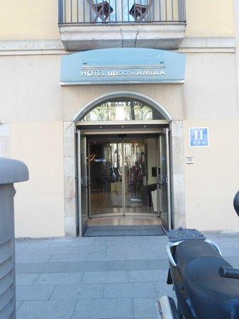 Abba Rambla Hotel: ingang