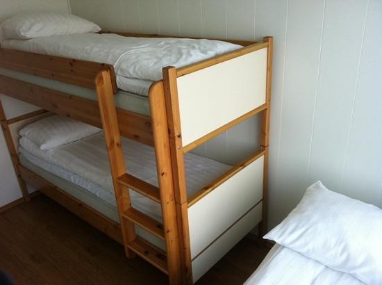 Svalbard Lodge: Bunk beds, room 206