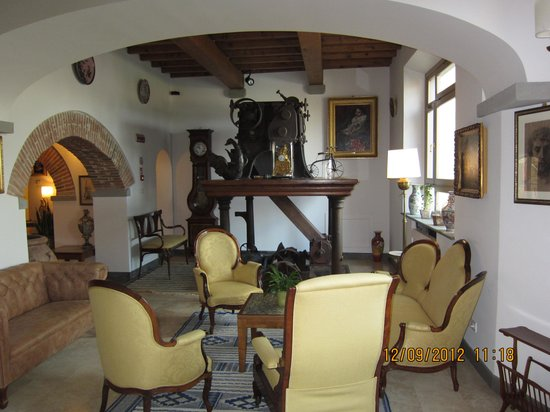 Hotel Mulino di Firenze: Гостиная