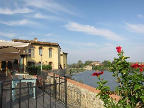 Hotel Mulino di Firenze: Терраса ресторана