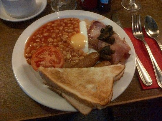 The Heath Inn: English breackfast
