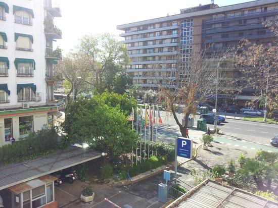 Hesperia Sevilla: Vista desde la habitación 210