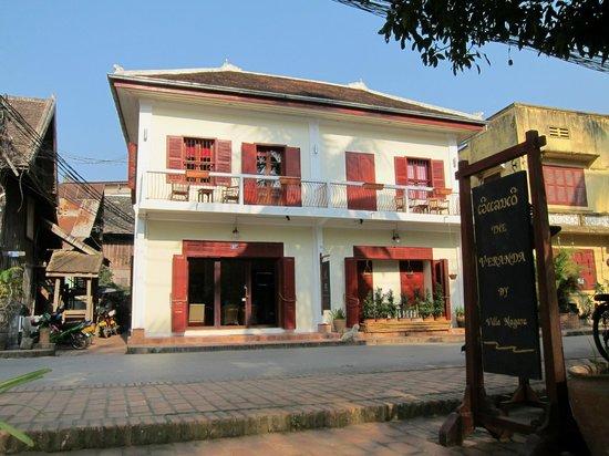Villa Nagara: front of hotel