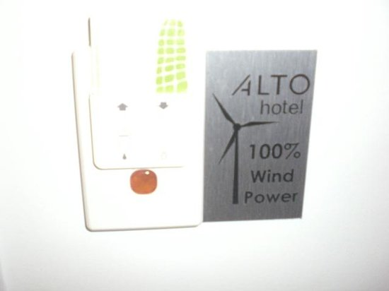 ‪‪Alto Hotel on Bourke‬: Hotel Wind Powered‬