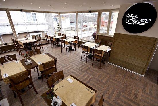 Hotel Evsen: Restaurant