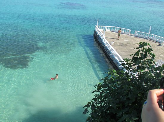 Silver Seas Resort Hotel : le coin baignade