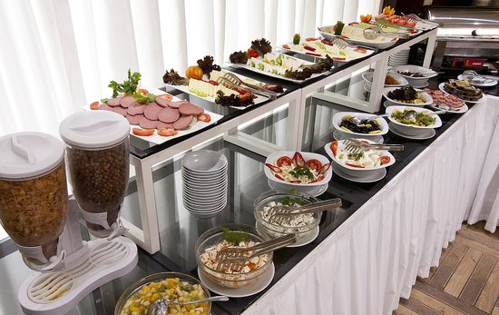 Hotel Evsen: Open Buffet Breakfast