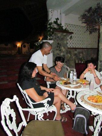 Silver Seas Resort Hotel: Le coin repas