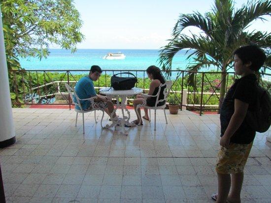 Silver Seas Resort Hotel: Coin repas