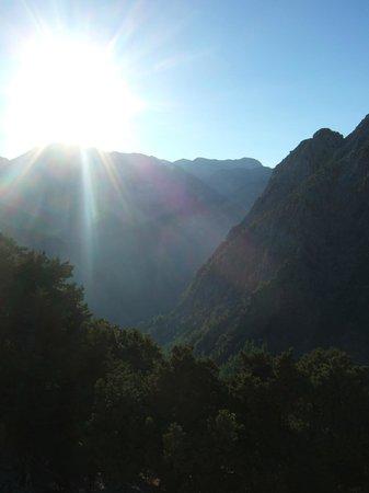 Samaria Gorge National Park: Am Eingang