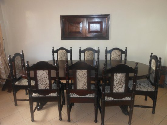 Milimani Bed & Breakfast: Dining area