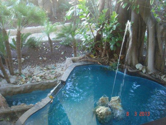 Magic Aqua Rock Gardens: en la entrada del hotel