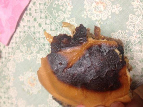 Crust: Burnt!