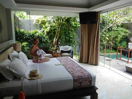 Bali Mandira Beach Resort & Spa: Villa room