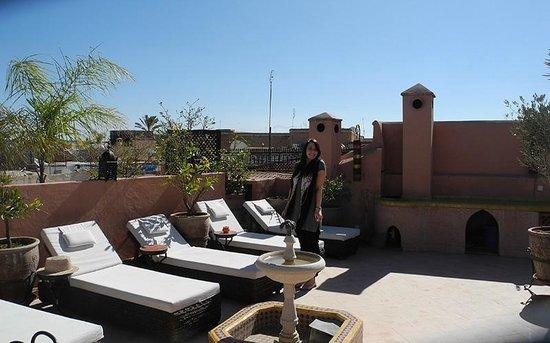 Riad Oumaima: Terrace view