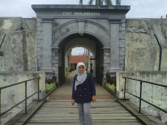 Fort Marlborough: depan gerbang dalam benteng Marlborough