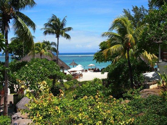 Hilton Mauritius Resort & Spa: une vue depuis le hall