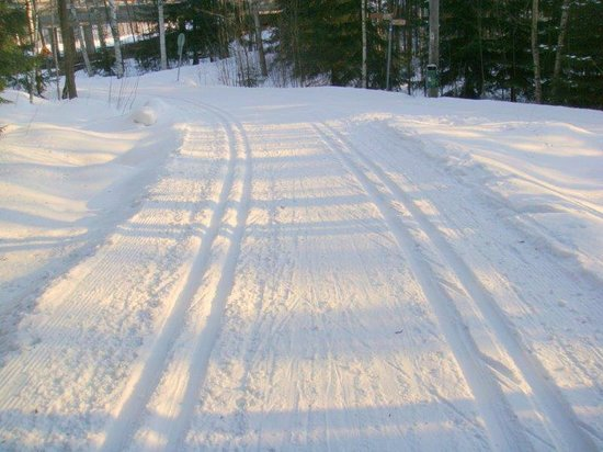 BEST WESTERN PLUS Hotel Haaga: Ski track