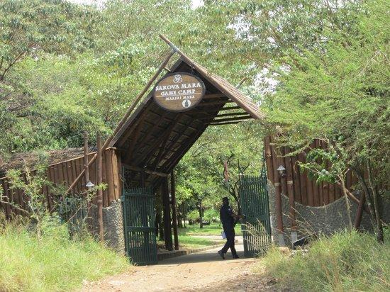Sarova Mara Game Camp: Entrée