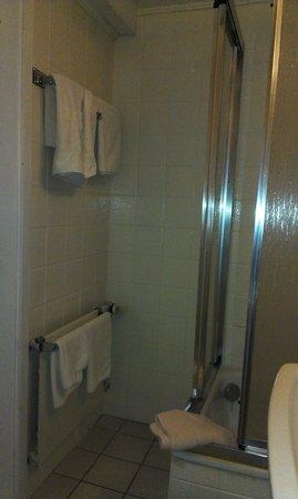 Hotel Kopa : die Dusche