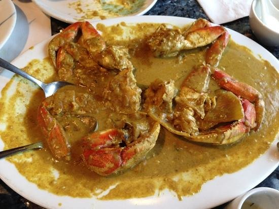 Saigon Star: curry crab…^_^