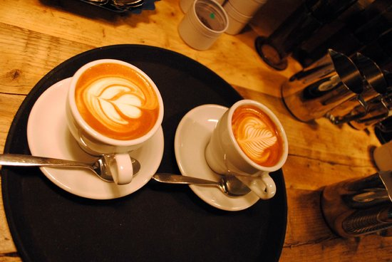 Habitat Cafe: Coffees prepared by trained baristas