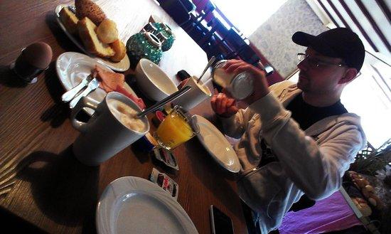 Hotel Kopa : Frühstück