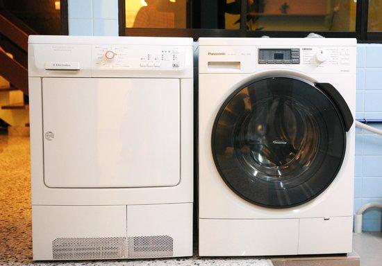 Twelve Inn Boutique Homestay : Washing machine + Dryer