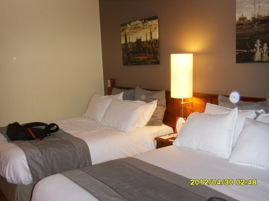 Crowne Plaza Brugge: double room