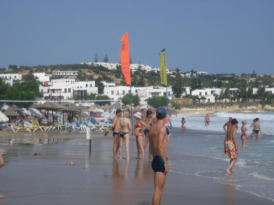 Albatros Spa & Resort Hotel: the beach near the hotel