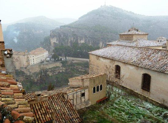 Hotel Convento del Giraldo: Vista desde la ventana, 306