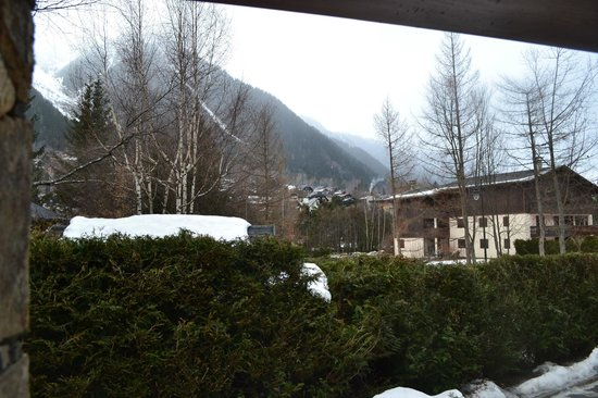 Ski Breezy - Chalet D'Ile: View from room day one...before the snowfall