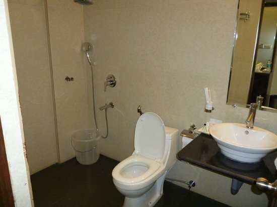 The Sai Leela Hotel: Sai Leela bathroom.