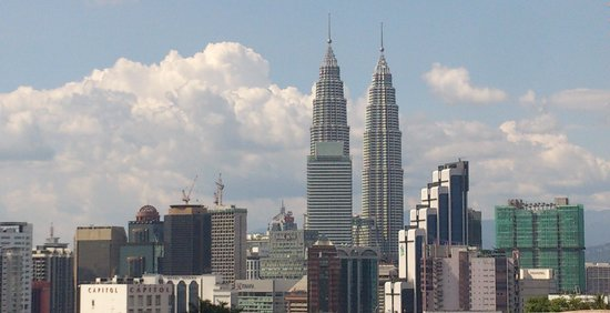 Furama Bukit Bintang: Twin Towers from the room
