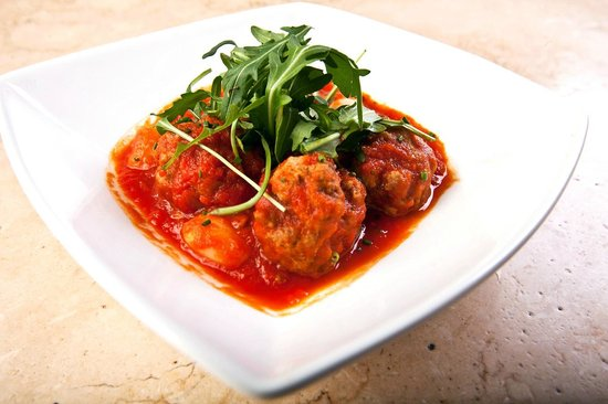 Prego Italian Cafe Bar & Restaurant: Homemade Meatballs