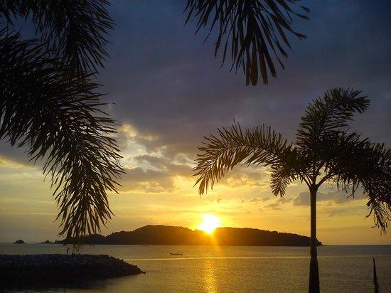 Tubotel: breathtaking sunset