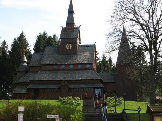 Hotel Haus am Hochwald: Einzigartige Stabkirche in Hahnenklee