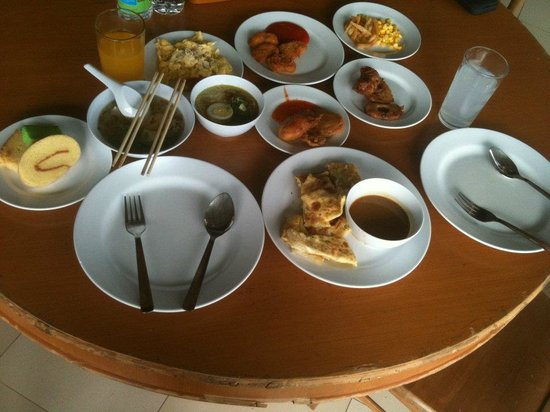 Bintan Agro Beach Resort: Really lacklustre breakfast.