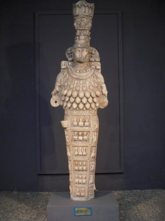 Ephesus Museum: Museum of ancient Ephesos - statue of Artemis