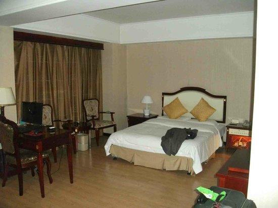 Yidu Hotel: bed