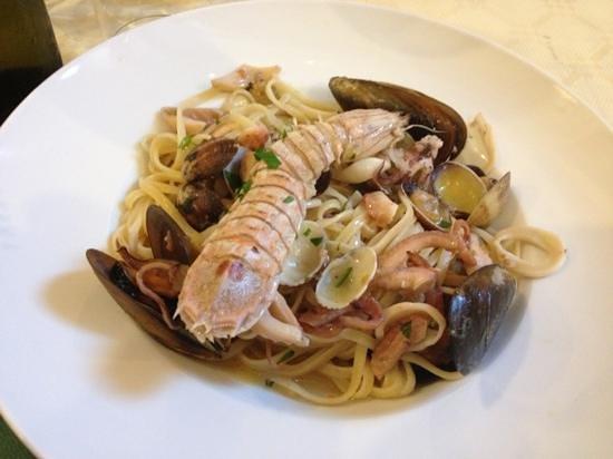 Gavorrano, Italien: linguine ai frutti di mare