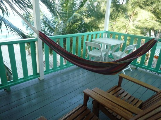 Seaspray Hotel: Porch - SeaStar Room