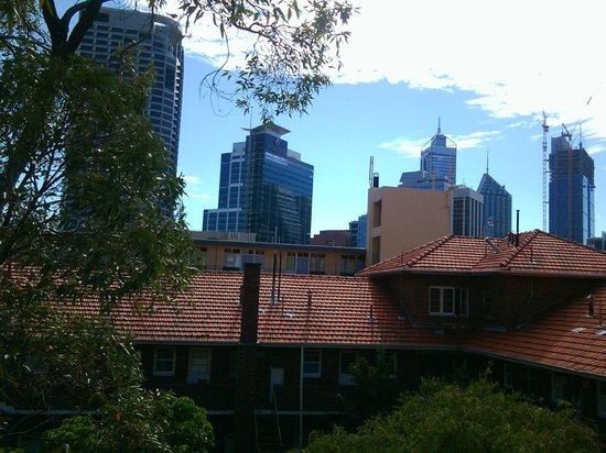 Riverview on Mount Street: View of CBD from my room