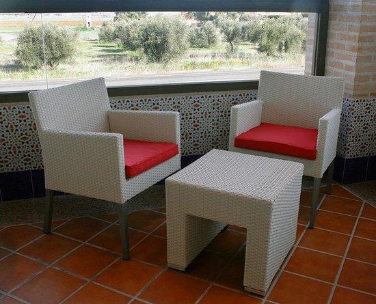 Hotel La Bastida: Vestibulo / Sala de estar