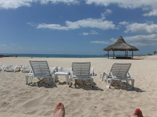 Cozumel Bar Hop: Punta Morena..my view from my chair!