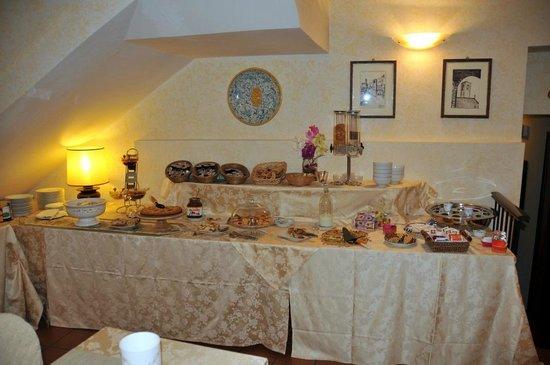 Hotel Gattapone - una parte del buffet a colazione