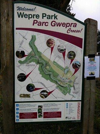 wepre park
