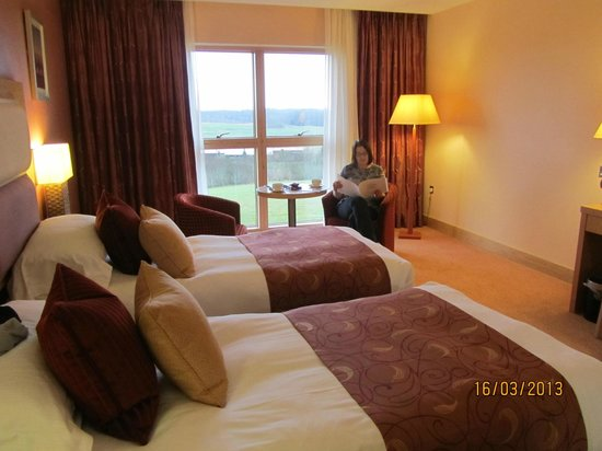 East Sussex National: Twin room 204