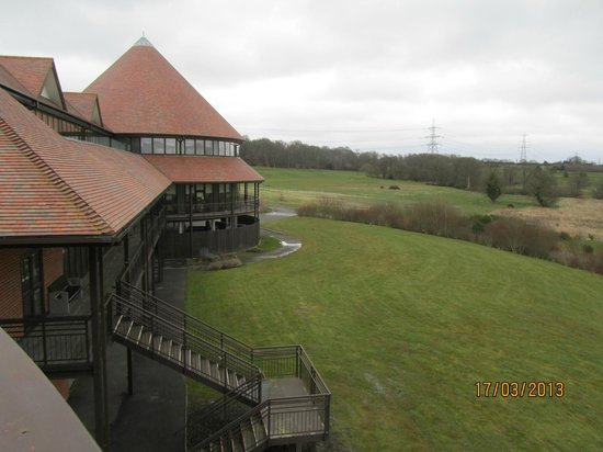 East Sussex National: View from luxury room balcony