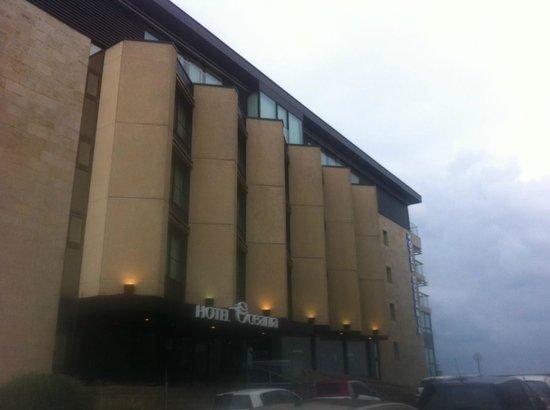 Hotel Oceania Saint Malo: Entrée de l'hôtel